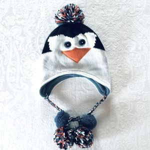 ⚡️$5 Add On⚡️ Claire's Lined Penguin Hat